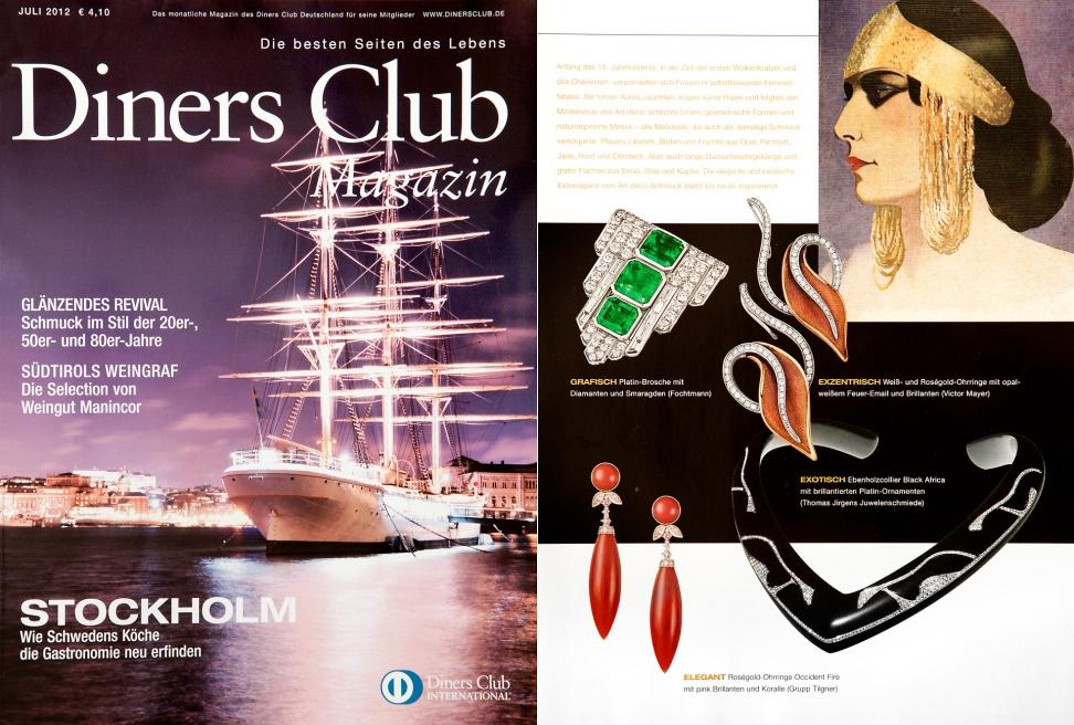 Diners Club Juli 2012